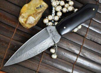 big-sale-handmade-damascus-hunting-knife-double-edge-buffalo-horn-handle-1094-p