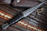 custom-damascus-double-edge-huting-knife-damascus-gaurd-with-leather-sheath-2-81-p