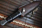 custom-damascus-double-edge-huting-knife-damascus-gaurd-with-leather-sheath-5-81-p