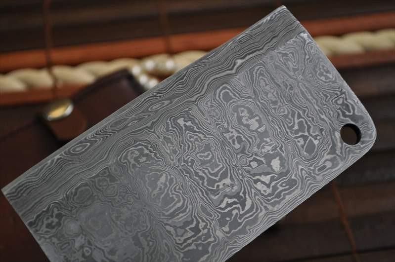 handmade chef knife damascus steel 2 5 inch wide blade perkin. Black Bedroom Furniture Sets. Home Design Ideas