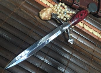 handmade-hunting-knife-double-edge-blade-with-leather-sheath-kli-1268-p