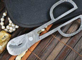 Damascus Steel Scissors