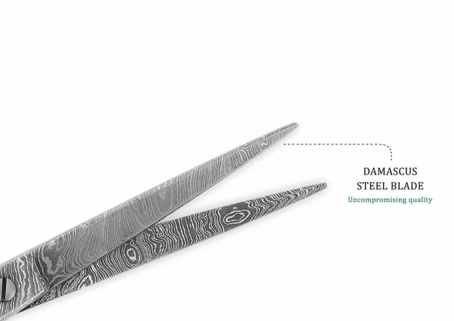 Damascus Steel Scissor - Work of Art - Outstanding Value