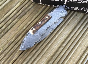 ALL DAMASCUS FOLDING KNIFE- LEGAL TO CARRY