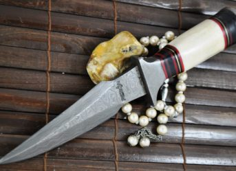 big-sale-handmade-damascus-hunting-knife-bowie-knife-bone-wood-handle-837-p