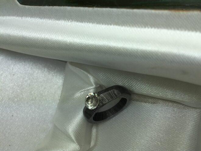 Damascus Steel Ring - R4