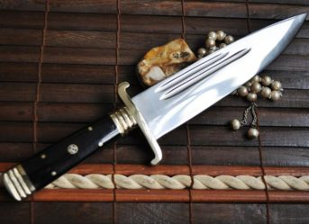 12 Inches O1 Tool Steel Hand Forged Hunting Knife