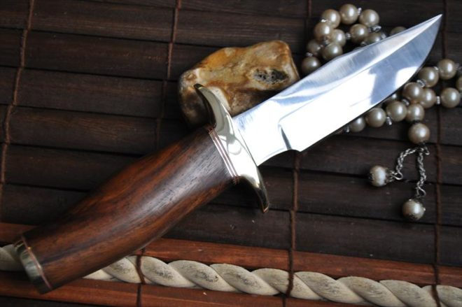 Hand Forged O1 Tool Steel Hunting Knife