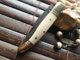 Handmade Damascus Pocket Knife - Beautiful Folding Knife  FRENCH LAGUIOLE KNIFE