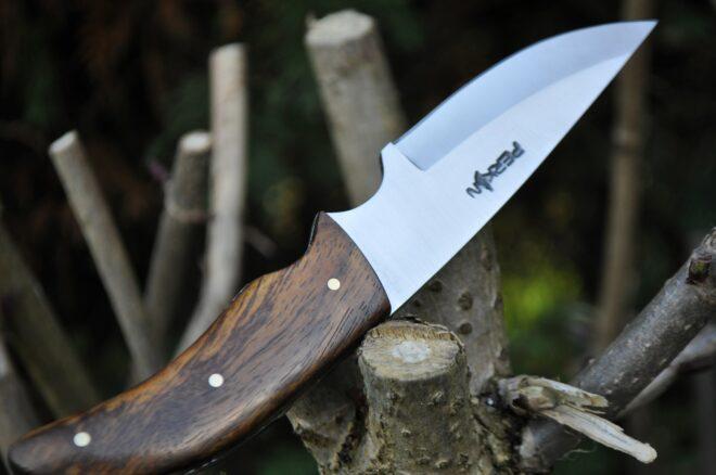 Handmade Bushcraft Hunting Knife with Sheath