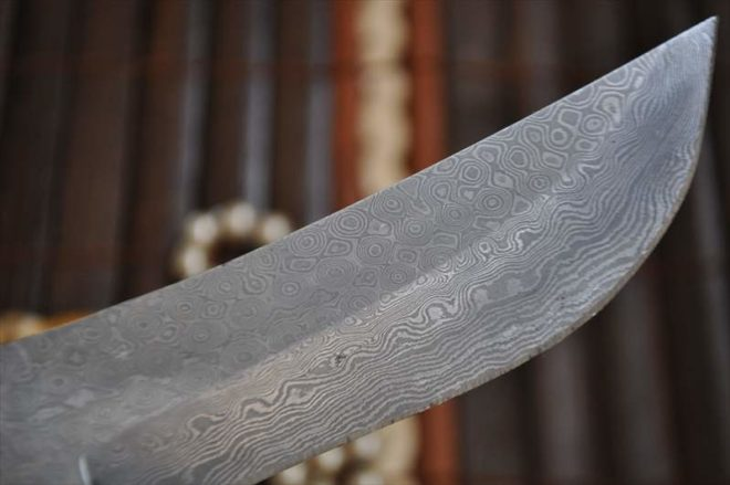 Damascus Steel Blank Blade for Knife Making