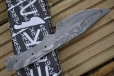 Damascus Blank Blade - 8 Inches