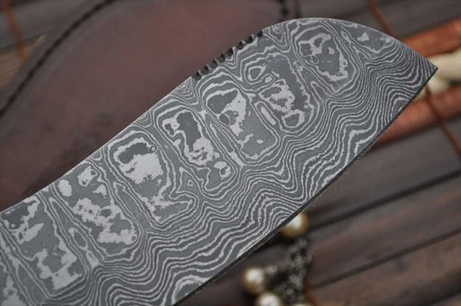 Unique Design Handcrafted Damascus Chef Knife