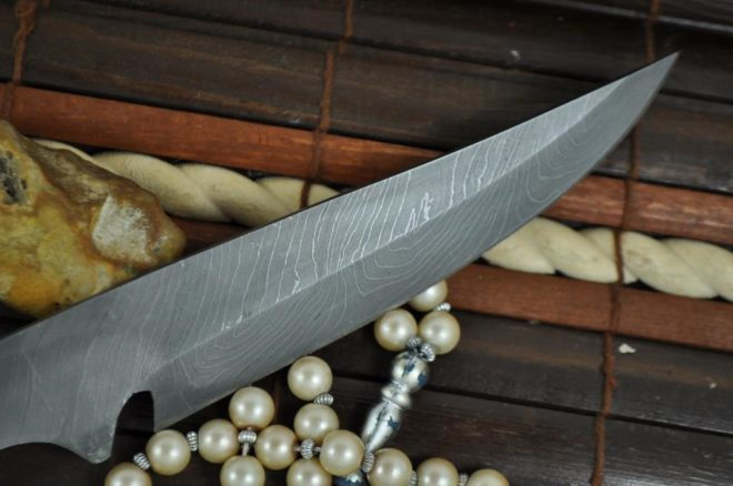 Damascus Handforged Blank Blade - 9401