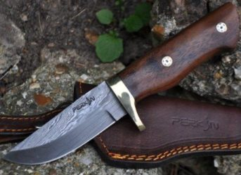 DAMASCUS HUNTING KNIFE - AR1009