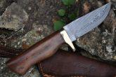 DAMASCUS HUNTING KNIFE - AR1009