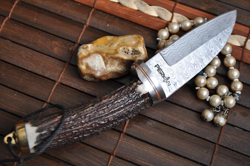 Stag Antler Handle Knife Deer Antler Knife Uk
