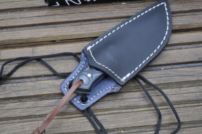 Small Bushcraft Knife with Sheath