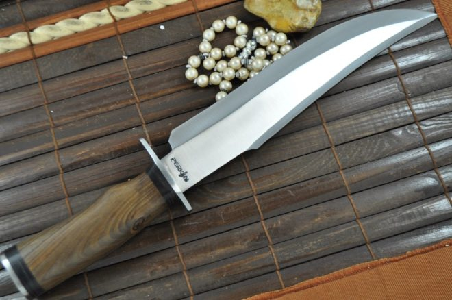 Handcrafted Hunting Knife 01 Carbon Steel Blade Bowie Knife With Sheath