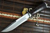 HANDCRAFTED HUNTING KNIFE BEAUTIFUL CAMPING KNIFE-440-C STEEL