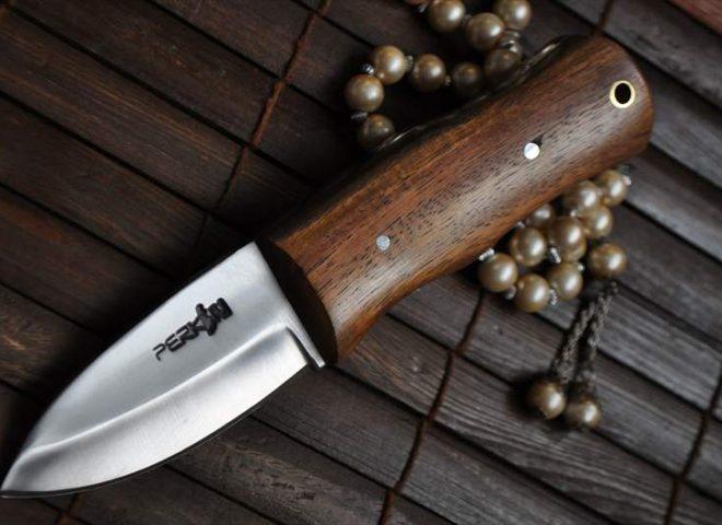 HANDMADE BUSHCRAFT KNIFE- 440C STEEL