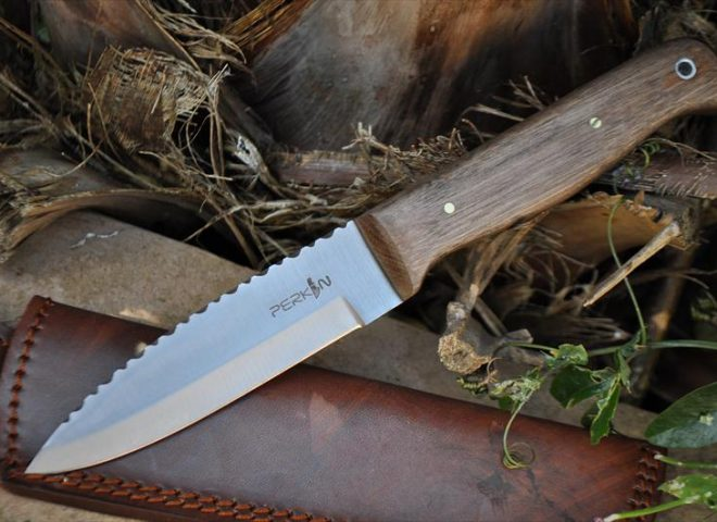 Handmade Bushcraft Knife With Fabulous Workmanship