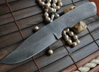 Handmade Damascus Blank Blade