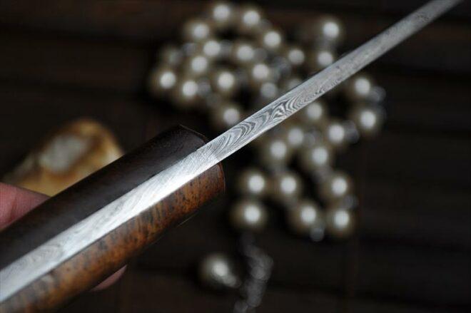 Handmade Damascus Bushcraft Knife - An Art - WBC-110