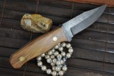 Amazing Value - Handmade Damascus Hunting & Bushcraft Knife