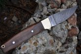 HANDMADE DAMASCUS HUNTING KNIFE - CAMPING KNIFE - AR119