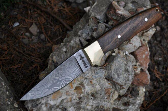 Handmade Damascus Hunting Knife