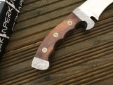Handmade Hunting Knife with D2 Tool Steel
