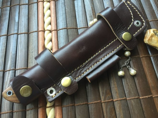 Handmade Hunting Knife - Bushcraft Knife - RMB