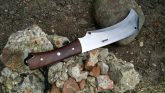 HANDMADE HUNTING KNIFE FULL TANG - 01 CARBON STEEL - WORK OF ART BY JD