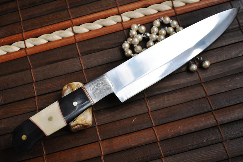 handmade hunting knife hand forged o1 tool steel kitchen