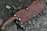 Stunning Handmade Damascus Full Tang Chopper Knife