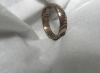 Handmade Mokume Ring - MRA