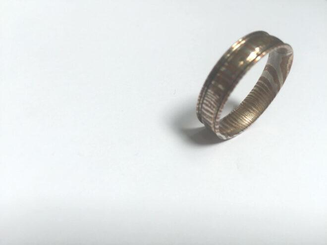Handmade Mokume Ring - MRB