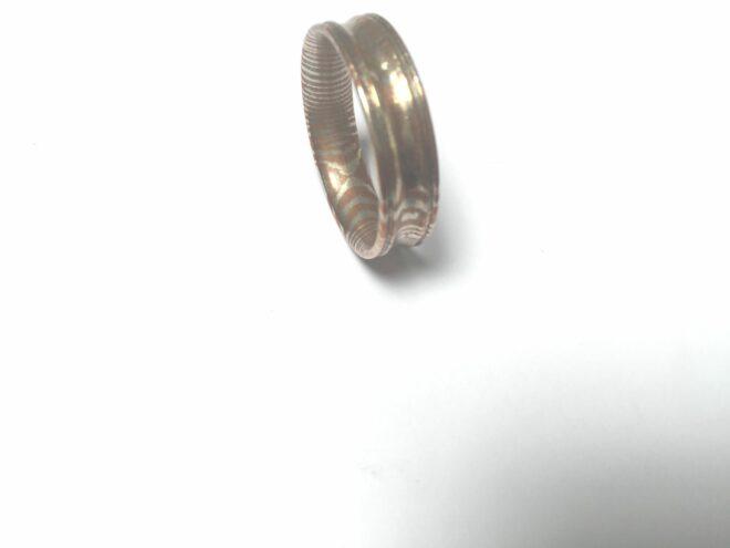 Handmade Mokume Steel Ring - MRC