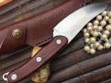 Hunting Bushcraft Knife with Cocobolo Wood Handle