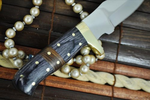 Now on Sale - O1 Tool Steel Hand Forged Hunting Knife