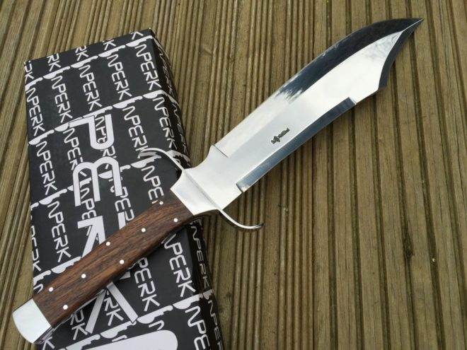 440c Steel Large Bowie Hunting Knife