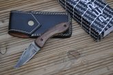 Handmade Damascus Pocket Knife - Beautiful Folding Knife