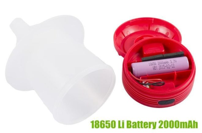 4W LED Rechargeable Portable Camping Light with 2000mAh Li Battery