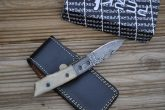 Damascus Steel Folding Knife - Legal to Carry