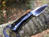 Smaller Bushcraft knife Neck knife with Sheath