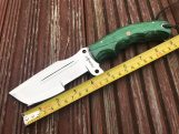 Handmade hunting knife fixed blade survival knife with sheath