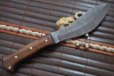 Handmade Damascus Hunting Knife Full Tang - Jungle Knife