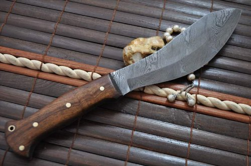Handmade Damascus Hunting Knife Full Tang - Jungle Knife