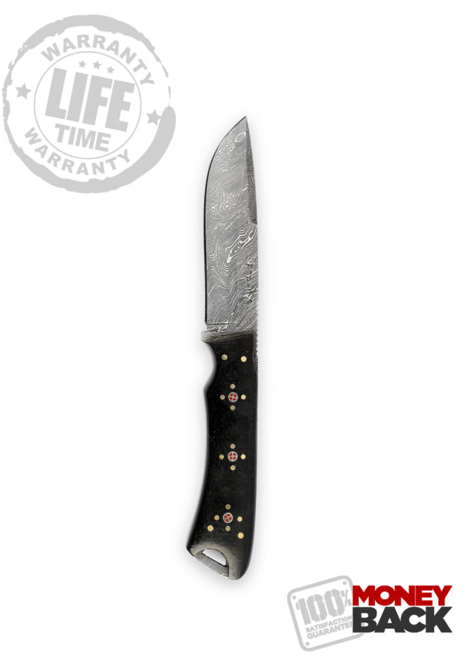 Razor Sharp Steel Blade Hunting Knife - 9.5 inches